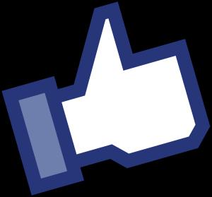 Facebook Like Daumen