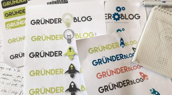 Wie entstand eigentlich das Logo für den  Gründerblog?