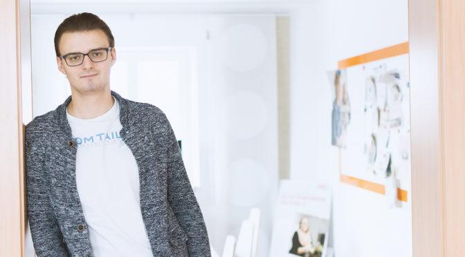 Nähkästchen Gespräch mit Maxi – Mediendesigner in Ausbildung