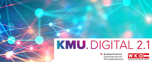 Hol dir bis zu € 10.200,- Umsetzungsförderung mit der KMU.DIGITAL 2.1!
