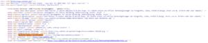 Eingefügter meta-tag bei webdots
