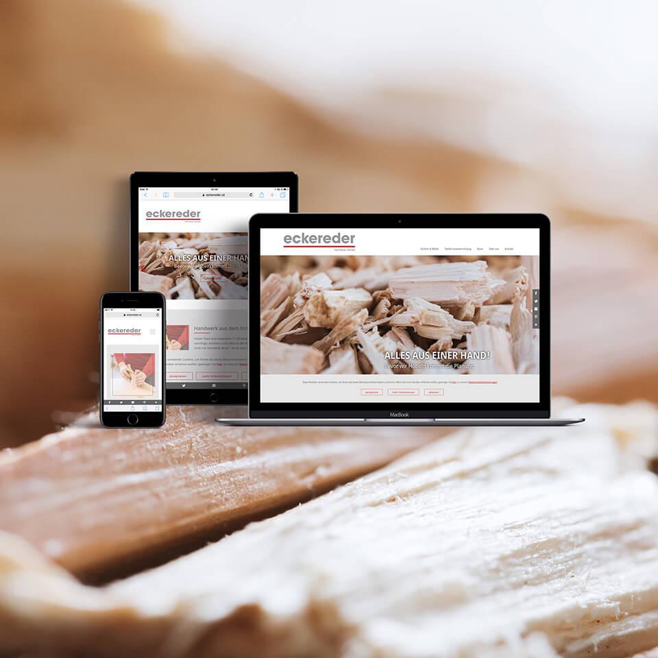 Website und Fotografie für Eckereder