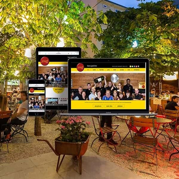 Website für Josef´s in Linz