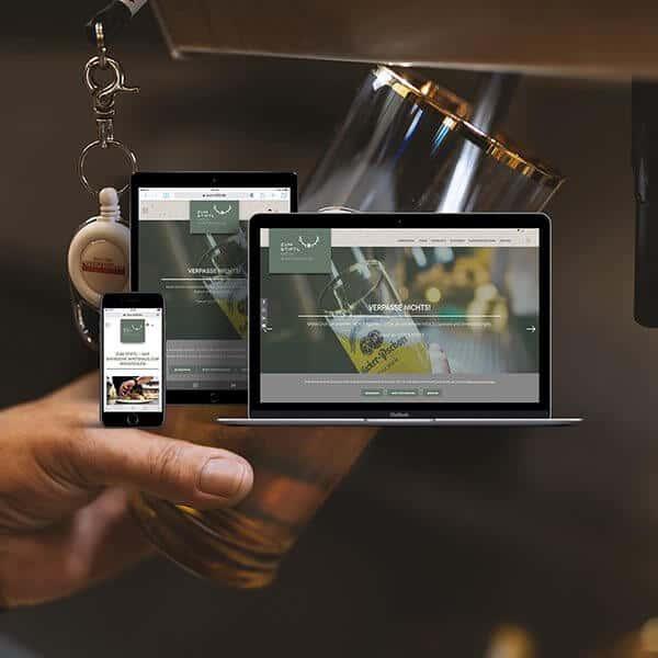 Cooperate Identity (CI), Fotografie und Website für Stiftl